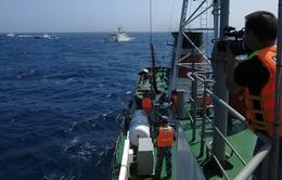 Phóng viên VTV và những hình ảnh sau ống kính nơi Biển Đông dậy sóng