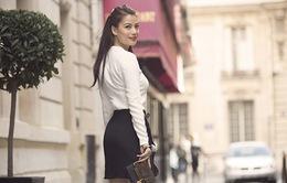 Trương Ngọc Ánh khoe sắc rạng ngời tại Paris
