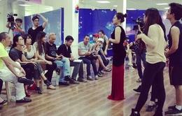 Cận cảnh buổi tập của top 12 Sao Mai Điểm hẹn 2014