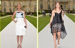 "Jennifer Lawrence, Emma Watson ""đọ"" trang phục tại show diễn của Christian Dior"