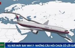 MH17 đã bay chệch khoảng 200km về phía Bắc