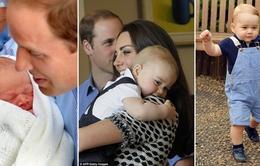 Ngắm loạt ảnh đáng yêu của Hoàng tử bé nước Anh trong năm đầu đời