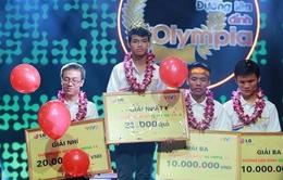 Nguyễn Trọng Nhân vô địch Đường lên đỉnh Olympia 2014