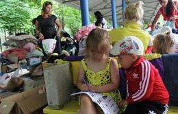 Số người dân Ukraine sang Nga lánh nạn tăng mạnh