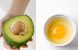 Quả bơ và trứng gà – hai thần dược của mái tóc