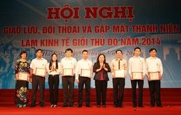 Gặp mặt thanh niên làm kinh tế giỏi Thủ đô năm 2014