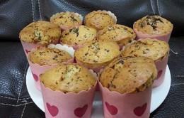 Đơn giản cách làm món bánh muffin cà rốt chocolate