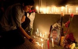 Người dân Venezuela khóc thương Tổng thống Chavez