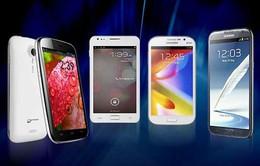 Năm 2014: Số smartphone được tiêu thụ đạt 1 tỷ chiếc