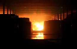 Cháy lớn tại kho chứa hàng của Sacombank