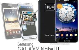 Galaxy Note III sẽ không có vỏ kim loại?