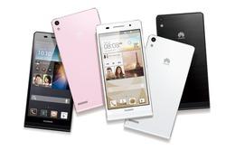 Ascend P6 – smartphone mỏng nhất thế giới