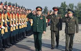 Việt Nam - LB Nga: Tăng cường hợp tác quân sự