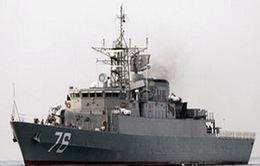 Tàu chiến Iran cập cảng Sudan