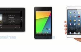 Chọn iPad Mini, Fire HDX 7 hay Nexus 7 2013?