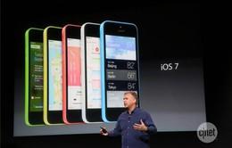 iPhone 5S, 5C không giữ được thị phần iOS