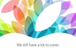 Apple gửi thư mời tham dự sự kiện 22/10