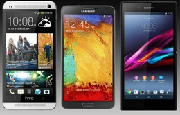Chọn HTC One Max, Galaxy Note 3 hay Sony Xperia Z Ultra?