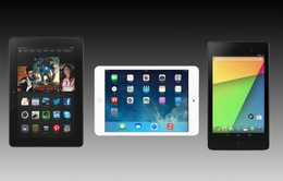 Chọn iPad Mini 2, Nexus 7 hay Kindle Fire HDX?