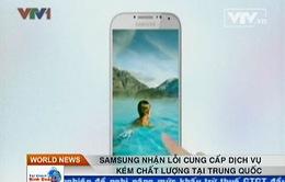 Samsung xin lỗi khách hàng Trung Quốc