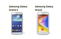 Galaxy Grand 2 - Galaxy Grand: Có gì khác biệt?