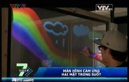 VIDEO: Chiêm ngưỡng màn hình cảm ứng hai mặt