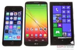 2013: Doanh số bán smartphone sẽ vượt 1 tỷ chiếc