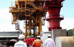 Đón dòng dầu đầu tiên của dự án Sư tử vàng Đông Bắc