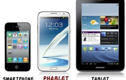 Phablet sẽ là điện thoại của tương lai?