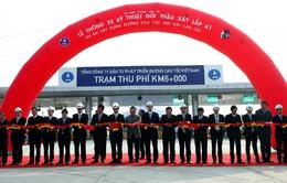 Khánh thành 26km đầu tiên cao tốc Hà Nội - Lào Cai
