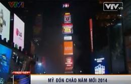 Mỹ chào đón năm mới 2014