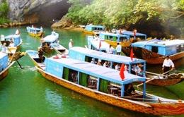 Du khách thăm vườn Quốc gia Phong nha Kẻ bàng tăng 30%