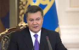 Ukraine: Tổng thống để ngỏ khả năng bầu cử sớm