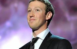 """Năm 2013, CEO Facebook """"bỏ túi"""" 12,4 tỷ USD"""