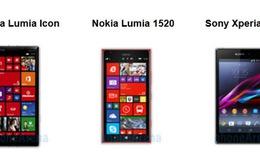 Chọn Lumia Icon, Lumia 1520 hay Sony Xperia Z1?