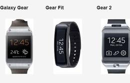 Gear Fit, Gear 2 và Gear: Thiết bị nào sẽ lên ngôi?