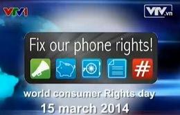 Hôm nay, ngày Quyền người tiêu dùng thế giới