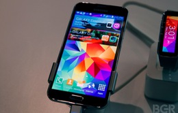 Galaxy S5 sở hữu màn hình smartphone tốt nhất