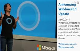 Microsoft trình diễn bản cập nhật Windows Phone 8.1