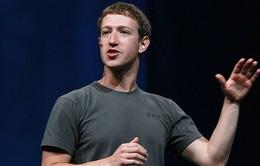 Năm 2013: Chủ tịch Facebook nhận lương 1 USD