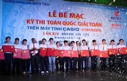 Bộ GD&ĐT trao giải thi máy tính cầm tay toàn quốc 2014