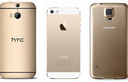 """Smartphone màu vàng có thực sự """"hot""""?"""