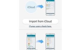 Cách chuyển dữ liệu từ iPhone sang Galaxy S5