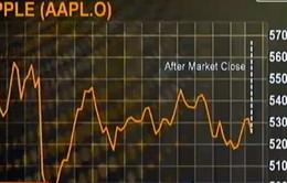 Cổ phiếu Apple tăng mạnh sau quyết định chia tách cổ phiếu
