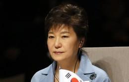 Tổng thống Hàn Quốc thăm nơi xảy ra vụ chìm phà