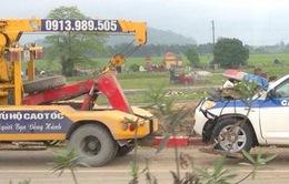 Xe CSGT gặp tai nạn, 3 người thiệt mạng