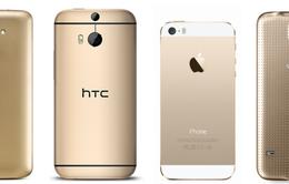Bạn có chọn smartphone màu vàng?