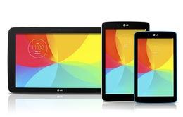 Ra mắt ba mẫu tablet cùng lúc, LG quyết chinh phục thị trường máy tính bảng?