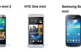 Đi tìm phiên bản smartphone mini hoàn hảo nhất