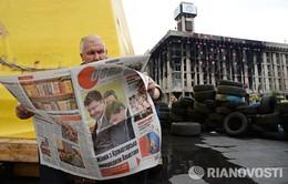 """Ngày """"im lặng"""" trước bầu cử Tổng thống tại Ukraine"""
